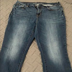 Old Navy Curvy Profile Straight Leg Jeans